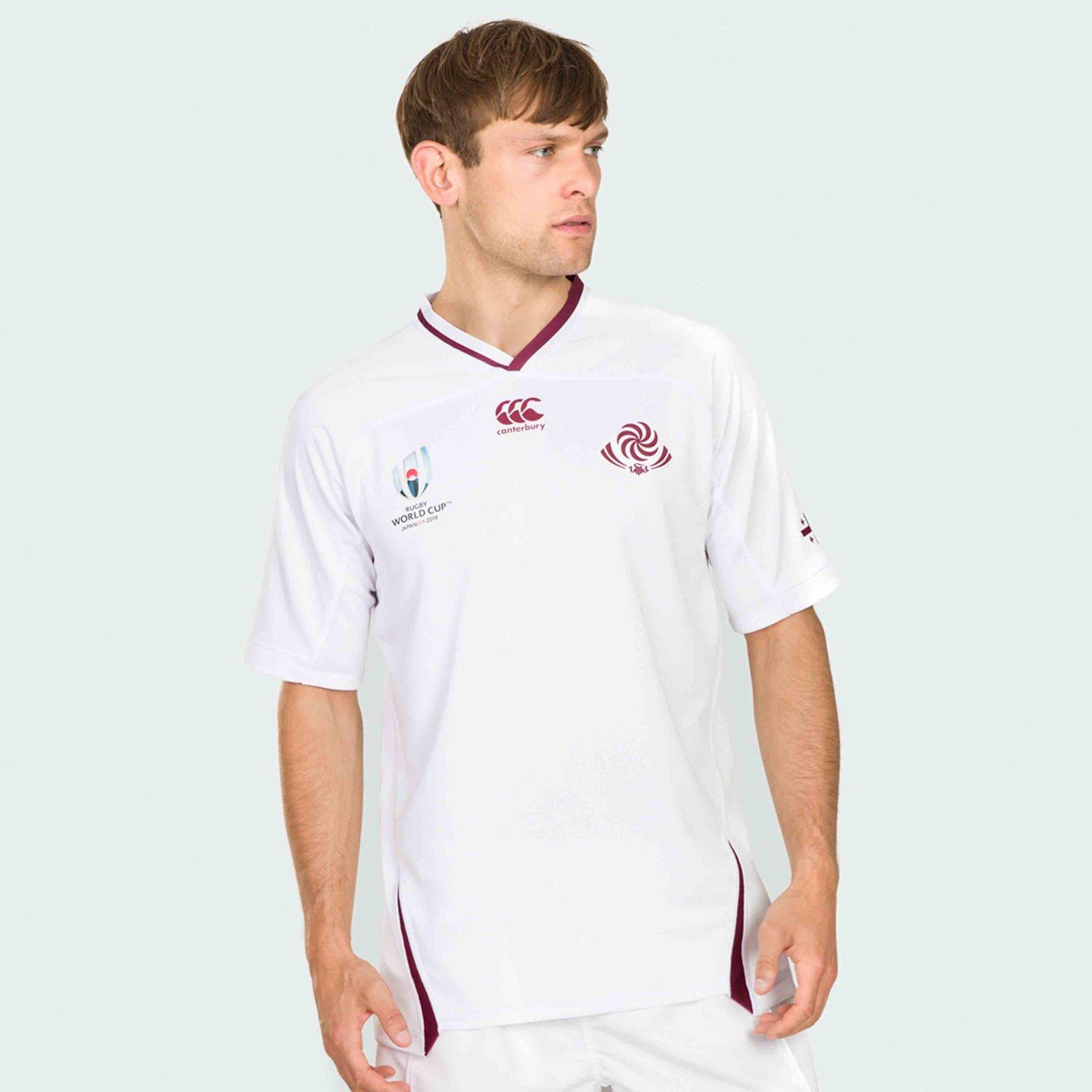 Camiseta Georgia Rugby 2019 Segunda