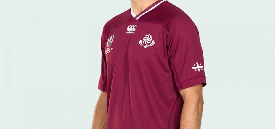 Georgia revela camisetas de la Copa Mundial de Rugby 2019