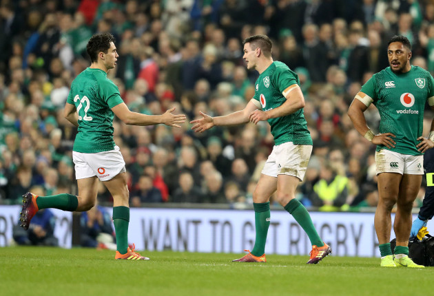 Schmidt has never really explored the possibility of Sexton and Carbery starting together