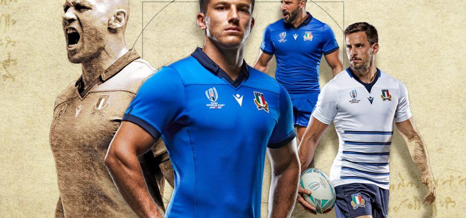 Italia revela camisetas de la Copa Mundial de Rugby 2019