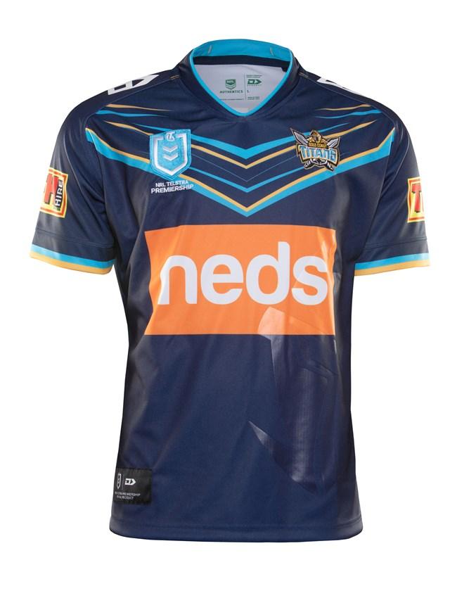 Camiseta Rugby Gold Coast Titans 2019