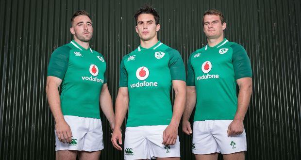 Camiseta de rugby Irlanda 2017/18 Canterbury primera equipación
