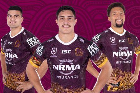 Los Broncos presentan la camiseta rugby indígena 2019