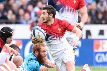 Camiseta de Rugby Francia Visitante adidas 2016