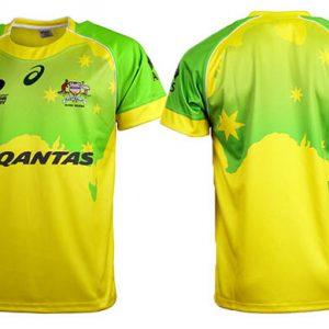 Camiseta Rugby Australia Rugby Sevens 2016 Asics Local y Visitante