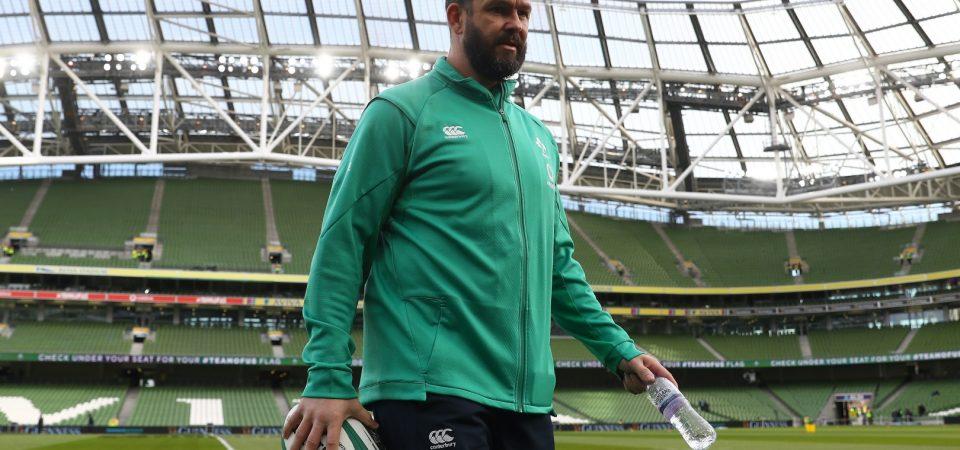 Andy Farrell libera a 13 jugadores del equipo de Irlanda para el servicio Pro14