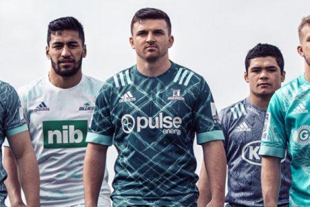 Los equipos de Super Rugby de Nueva Zelanda desvelan camisetas