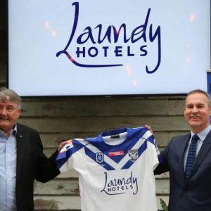 Nueva era para los Bulldogs mientras el club de lucha revela el patrocinador de la camiseta del hotel empire